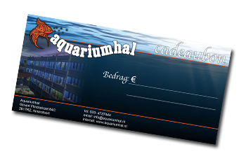 Aquariumhal cadeaubon